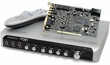 Creative Sound Blaster X-Fi Elite Pro 7.1 PCI Soundkarte mit viel Zubehör,SB0550