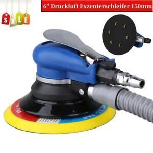 """6"""" Druckluft Exzenterschleifer Poliermaschine Ø 150 mm Excenterschleifer NEU"""