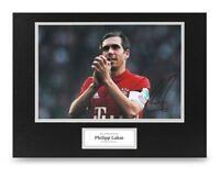 Philipp Lahm Signed 16x12 Photo Display Bayern Munich Autograph Memorabilia +COA