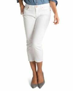 Spanx Jeans The Slim-x Casual Capri Womens Size 29 X 23 White