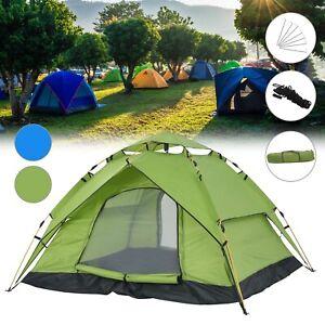 Schnellaufbau Zelt 2-3 Personen Camping Zelt, Wasserdicht Winddicht Ultraleichte