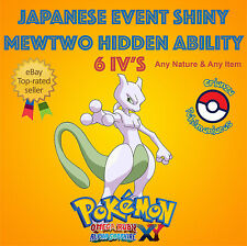Pokémon ORAS – SHINY MEWTWO JAPAN EVENT Pokémon Scrap 6IV's - ANY NATURE