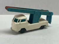 1960s husky volkswagon pick up white with blue ladder rare