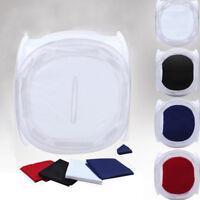 "16"" Photo Studio Photography Light Tent Backdrop Kit Lighting in a Box 40cm Cube"
