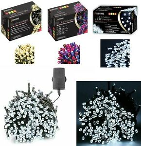 BATTERY OPERATED LED XMAS FAIRY LIGHTS WITH TIMER INDOOR OUTDOOR CHRISTMAS PARTY