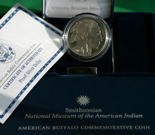 2001 Buffalo Commemorative 90% Silver PROOF Dollar US Mint Coin with Box and COA