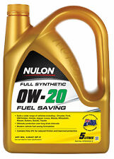 Nulon Full Synthetic Fuel Saving Engine Oil 0W20 5L 3 Box