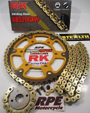2006-2007 Honda CBR1000RR RK GXW Gold 520 SuperSprox Chain and Sprocket Kit