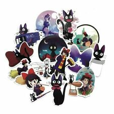 15× Kiki's Delivery Service Sticker Anime Stickers For Laptop Suitcas  Top