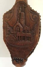 Vintage Wooden R.A. Listing Fireplace Bellow-England