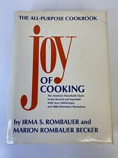JOY OF COOKING HC DJ All-Purpose Cookbook Rombauer & Becker 1975 Edition