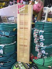 "Wood Shutters 71/2""x26"" (4 Per Pkg)."