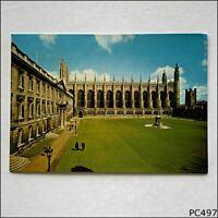 King's College Cambridge Chapel and Gibbs' Building Postcard (P497)