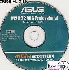 ASUS GENUINE VINTAGE ORIGINAL DISK FOR M2N32 WS PRO Motherboard Disk M914
