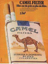 Publicité Advertising 016 1972 Camel  cigarettes