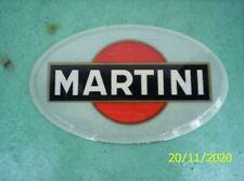 Ancienne plaque publicitaire Martini