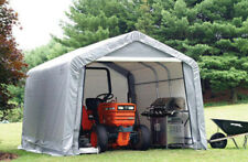 Shed-in-a-Box 10' x 10' x 8' Carport Waterproof Shelter Portable Garage Canopy