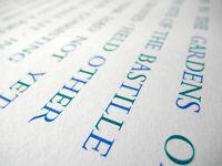 "Ian Hamilton Finlay Orig. Siebdruck hand-signiert Aufl. 50 Expl. ""Pastoral"" 1996"