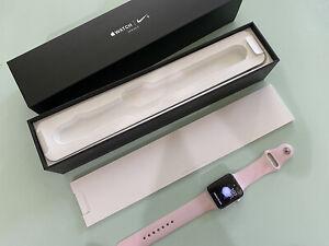 Apple Watch 42mm Used Silver Nike + w/Original Box