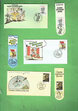 #D399.  AUSTRALIA POST CLASSIC CHILDREN BOOKS STAMPED ENVELOPES & BOOKMARKS
