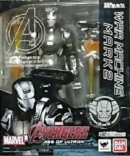 New Bandai S.H.Figuarts Iron Man War Machine Mark2 Pre-PAINTED