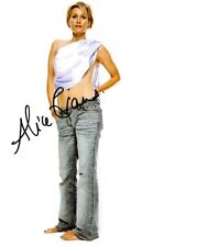 ALICE EVANS Signed Photo - The Vampire Diaries