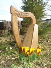 Pentatonische Harfe mit 9 Bronzesaiten + Tasche + 1 Satz Ersatzsaiten + Stimmsch