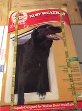 "New Ideal Pet Products Extra Large Ruff-Weather ""All Climate"" Dual Flap Pet Door"
