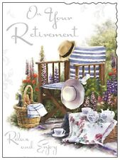 """On Your Retirement Card ~ Relax and Enjoy ~ Small/medium 5.5""""x7.5"""""""