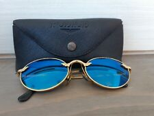 Authentic police 2192  col. 004 Sunglasses old frame vintage & leather case