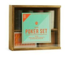 Deluxe Poker Set: Contains 2 Decks Of Cards, 100 Chips, Dealer Button