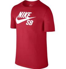 Nike SB Icon T-Shirt Red White Sz Medium 821946-657