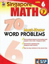 70 Must-Know Word Problems, Grade 7 (Singapore Math)