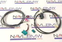 BMW CCC CIC Navigation retrofit HSD cable upgrade set USB AUX, idrive, monitor