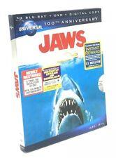 Jaws (Blu-ray+DVD+Digital HD, 2012) NEW w/ RARE OOP Gatefold Slipcover