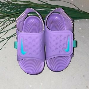 Nike toddler Sunray purple sandals size 7