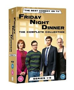 Friday Night Dinner The Complete Collection Series 1-6 Season 1 2 3 4 5 6 DVD