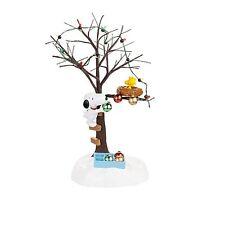 Dept 56 Sharing Christmas Spirit Peanuts Village Figure-Snoopy