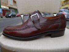 GRAVATI Herren Schuhe Halbschuhe rahmengenäht Leder 80er True Vintage 80s