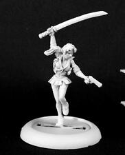 Whitney, Anime Heroine Miniature by Reaper Miniatures RPR 50228