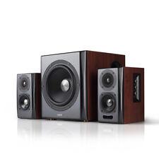 Edifier S350DB 2.1 Speaker System with Bluetooth aptX - Brown