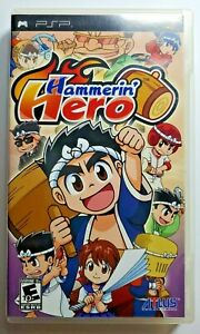 Hammerin' Hero (Sony PSP, 2009) Complete