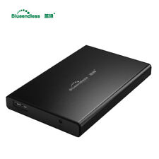 "Portable External 750GB Hard Disk Drive 2.5"" USB 3.0 Aluminum Backup Slim HDD"