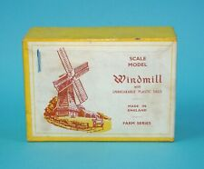 F.G. TAYLOR & SONS No 531 PLASTIC WINDMILL BOXED BOX 1950s ENGLAND HTF