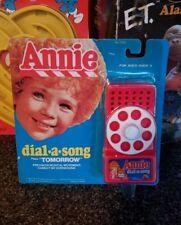 Vintage LJN Little Orphan Annie Dial-A-Song Telephone MoC - super rare 1981