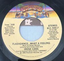 Irene Cara - Flashdance.What A Feeling / Helen St. John 45 1983 Casablanca