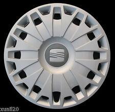 SEAT IBIZA 2008> COPRICERCHIO COPPA RUOTA COPPONE 15''  1 PZ COPPA HUB CAPS