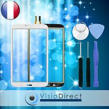 """Vitre ecran tactile pour Samsung Galaxy Tab 3 8.0"""" T310 T3100 blanc + outils"""