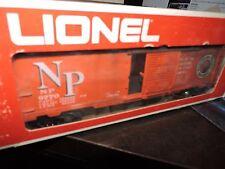 LIONEL O SCALE 3 RAIL NORTHERN  PACIFIC BOX CAR  # 9770 # 6-9770