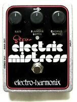 Used Electro-Harmonix EHX Stereo Electric Mistress Flanger Chorus Guitar Pedal